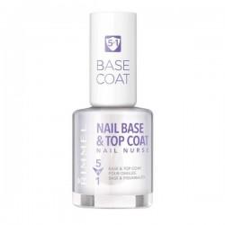 Rimmel Smalto Nail Base Top Coat 5 in 1