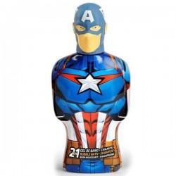 Marvel The Avengers Captain America Bagno Schiuma 350ml