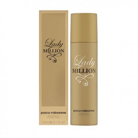 Paco Rabanne Lady Million Deodorante 150ml